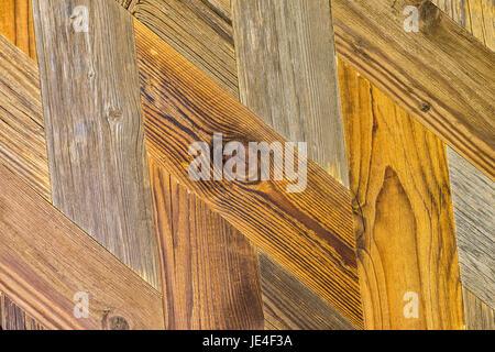 Fischgrät parkett muster  Rustikalen Holzboden-Textur mit einem Parkett-Muster Stockfoto ...