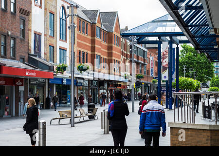 Harrow Stadtzentrum, Vorort in North West London, England, Vereinigtes Königreich - Stockfoto