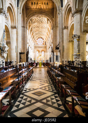 Christ Church Cathedral, Christ Church College, Oxford, England - Stockfoto