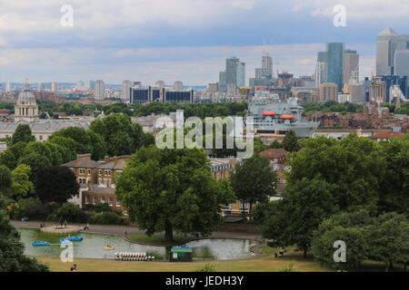 RFA Argus Greenwich in London besuchen - Stockfoto