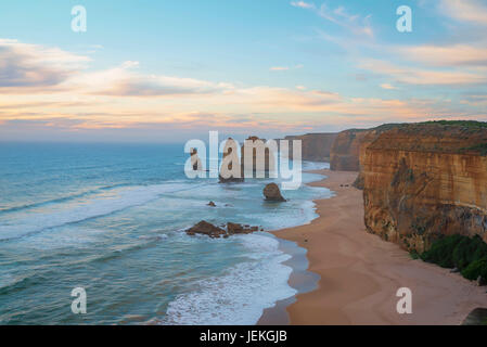 The Twelve Apostles, Twelve Apostles Marine National Park, Victoria, Australien - Stockfoto