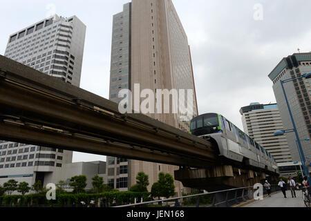 Tokyo. 26. Juni 2017. Foto aufgenommen am 26. Juni 2017 zeigt ein Gebäude von Takata Corporation (C) in Tokio, Japan. - Stockfoto
