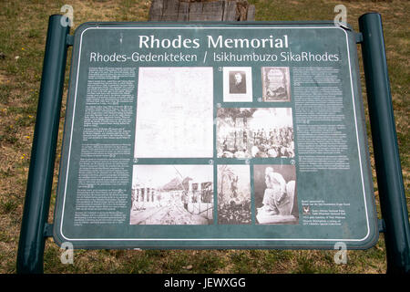 Rhodes Memorial, Cape Town, Südafrika - Stockfoto