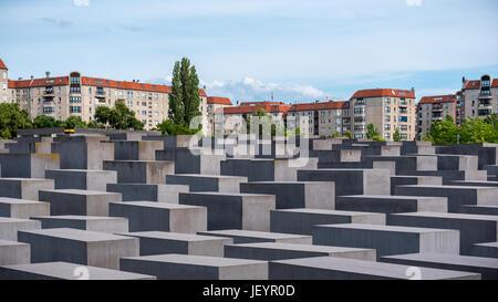 Holocaust-Mahnmal-Berlin - Stockfoto
