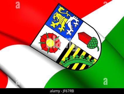 flagge von altenburger land deutschland hautnah stockfoto bild 86478227 alamy. Black Bedroom Furniture Sets. Home Design Ideas