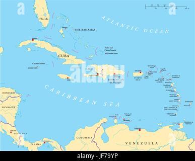 Karibik Karte Welt.Kuba Jamaika Karibik Haiti Karte Atlas Weltkarte Atlantik
