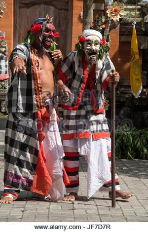 Indonesien, Bali, Ubud, Barong Tanz im Dorf Batubulan - Stockfoto