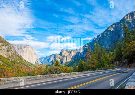 Yosemite Valley vom Tunnel View Point