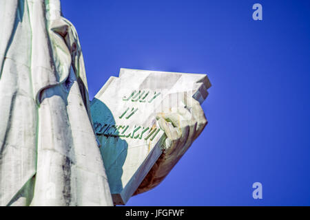 Freiheitsstatue in New York - Stockfoto