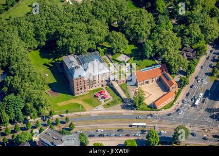 Schloss Horst, Gelsenkirchen, Buer, Ruhrgebiet, Nordrhein-Westfalen, Deutschland, Schloß Horst, Gelsenkirchen, Buer, - Stockfoto