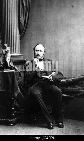 Prinz ALBERT von Sachsen-Coburg und Gotha, Ehemann von Königin Victoria - Stockfoto