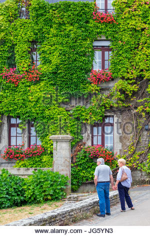 Frankreich, Bretagne, Morbihan Abteilung, Rochefort En Terre. - Stockfoto