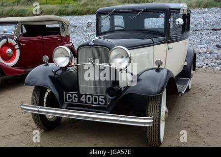 Restaurierte Oldtimer Ford V8 Model1932 produziert durch Ford Motor Company Dagenham - Stockfoto