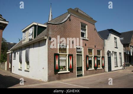 Wilnis Dorfbild, Niederlande - Stockfoto