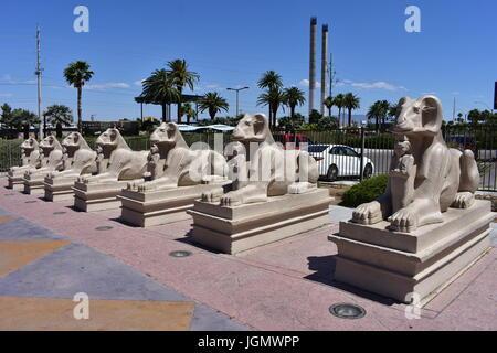 Las Vegas, Nevada - USA - Juni 05,2017 - Luxor Las Vegas - Stockfoto