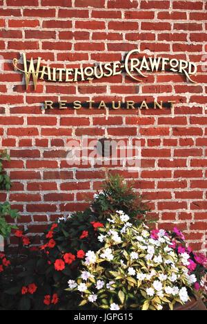 Whitehouse-Crawford Restaurant, Walla Walla, WA, USA - Stockfoto