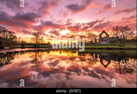 Bolton Abbey - Stockfoto