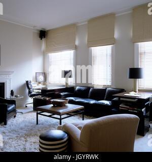 Wohnzimmer Im Modernen Stil Stockfoto, Bild: 148128895   Alamy
