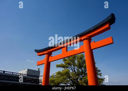 Fushimi Inari-Taisha Schrein, Torii-Tore - Stockfoto