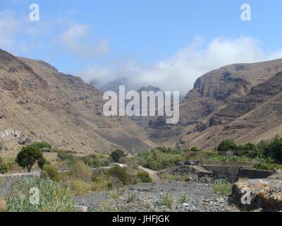 2015 la Gomera 406 150702 Barranco de Santiago - Stockfoto