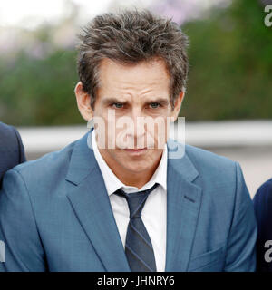 CANNES, Frankreich - 21. Mai: Schauspieler Ben Stiller kümmert sich 'The Meyerowitz Stories' Fototermin während - Stockfoto