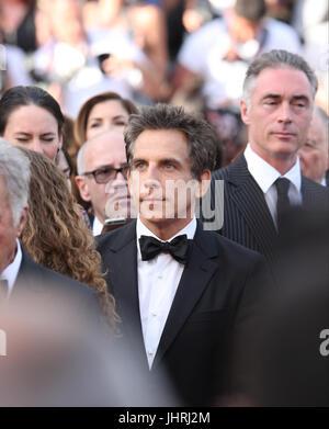 Ben Stiller besucht The Meyerowitz Stories screening während der 70. jährlichen Cannes Film Festival im Palais des - Stockfoto