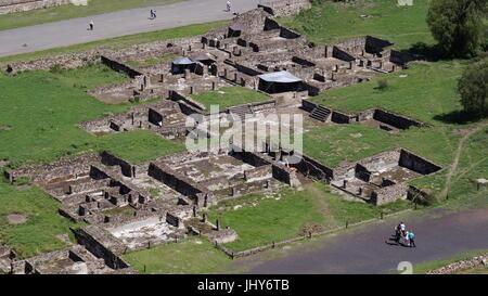 Teotihuacan-Stadt der Götter, schöne mexikanische Kultur und Schönheit-Architektur, die Sie sprachlos machen wird, - Stockfoto
