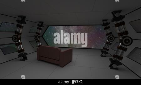 https://l450v.alamy.com/450vde/jj93k2/raumschiff-interieur-mit-relax-sofa-blick-auf-raum-und-fernen-planeten-system-3d-illustration-jj93k2.jpg