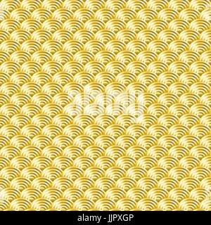 Chinesische Goldgrund Musterdesign Vektorgrafiken - Stockfoto