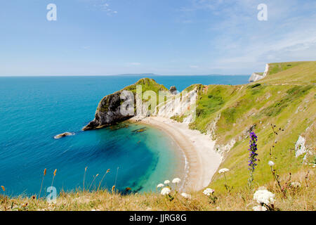 Jurassic Coast, Dorset, UK. Durdle Door machen. - Stockfoto