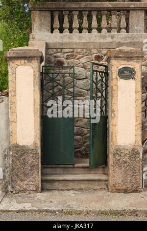 Frankreich, Korsika, Haute-Corse Abteilung, Fiumorbo Region, Prunelli di Fiumorbo Tor detail - Stockfoto