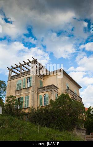 Frankreich, Korsika, Haute-Corse Abteilung, Fiumorbo Region, Prunelli di Fiumorbo, Haus - Stockfoto
