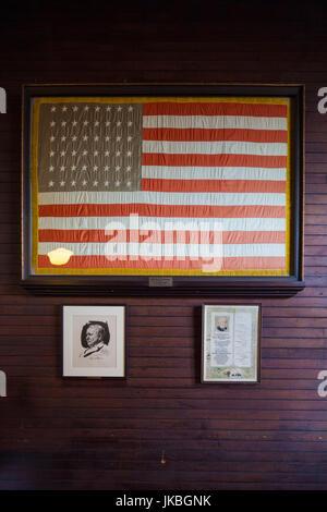 USA, New Jersey, West Orange, Thomas Edison National Historical Park, inneren detail