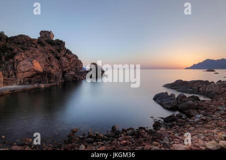 Porto, Ota, Korsika, Frankreich - Stockfoto