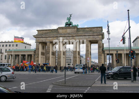 Brandenburger Tor - Berlin, Deutschland - Stockfoto