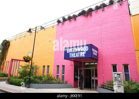 Greenwood Theater, Weston Street, Southwark, London, UK - Stockfoto