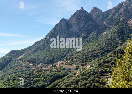 OTA, Korsika, Frankreich - Stockfoto