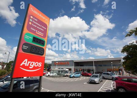 Sainsbury's Superstore, Nottingham - Stockfoto