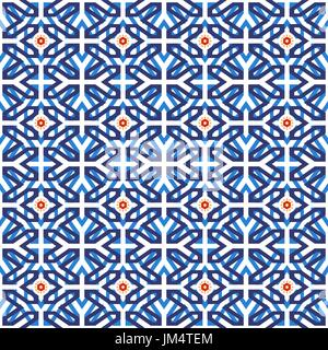 nahtlose geometrische muster auf traditionellen