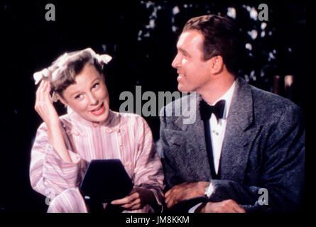 James Stewart, June Allyson in die Glenn Miller Story, 1954 - Stockfoto