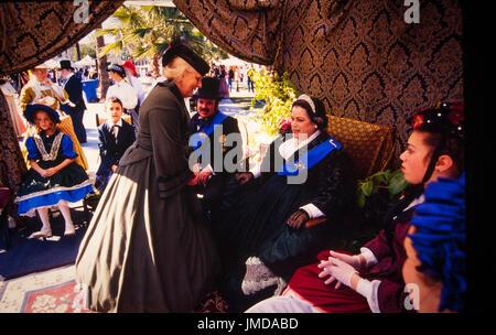 Die Charles Dickens Festival jährlich in Riverside in Kalifornien statt, feiert das Leben und die Zeiten des renommierten - Stockfoto