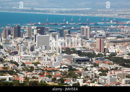 Die Innenstadt von Kapstadt, Südafrika - Stockfoto