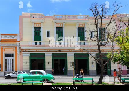 Hotel Velasco, koloniale Gebäude und Architektur, außen, Matanzas, Kuba