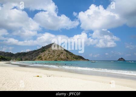 Selong Belanak Strand, Lombok, Indonesien - Stockfoto