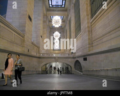 "New York, USA. 26. Juli 2017. Ein Blick auf die ""whispering Gallery"" im Grand Central Terminal Bahnhof in New York, - Stockfoto"