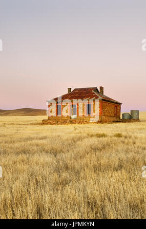 Historische Cobb & Co Cottage in Burra. - Stockfoto