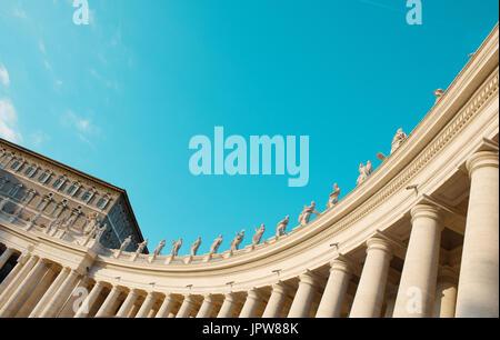 Sankt Peter in Rom, italienische Stadt, Reise - Stockfoto