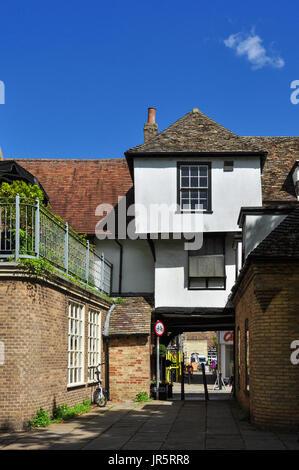 Steeplegate, Ely, Cambridgeshire, England, Vereinigtes Königreich - Stockfoto