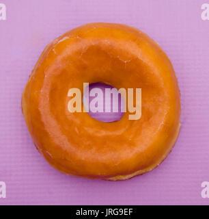 Einfach verglaste Donuts - Stockfoto
