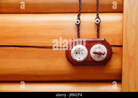 lichtschalter und steckdose stockfoto bild 37518901 alamy. Black Bedroom Furniture Sets. Home Design Ideas